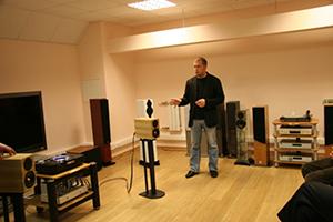 Презентация акустики Penaudio в Санкт-Петербурге