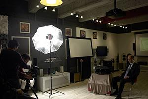 "Съёмки телеканала ""Россия-1"" в салоне ""Sound Art by Audiomania"""