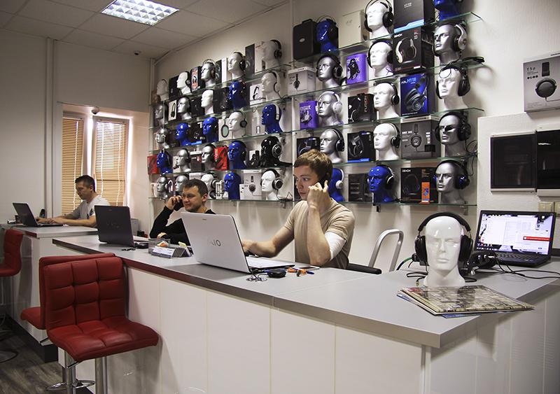 магазин Аудиомании в Москве
