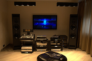 Инсталляция компании Аудиомания. Квартира класса премиум (статья из Stereo & Video)