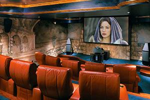 Экраны, линзы, видеопроцессоры или как построить домашний кинозал с широким экраном