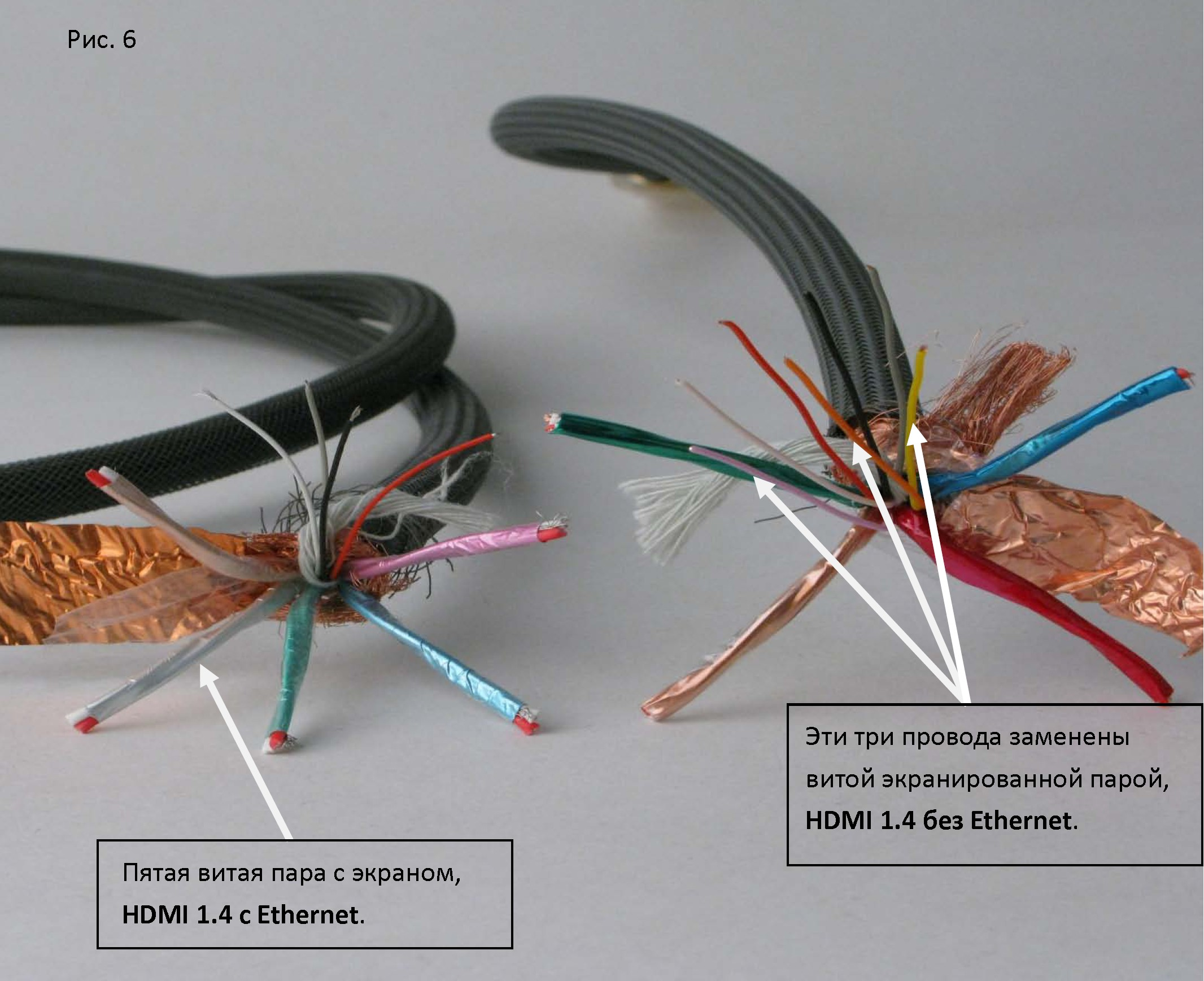 Удлинить hdmi кабель своими руками