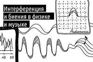 Интерференция и биения в физике и музыке