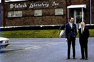 История американской компании McIntosh Laboratory в фотографиях