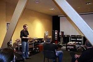 Презентация акустических систем System Audio Ranger