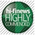 HI-FI News: Highly Commended