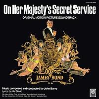 Виниловая пластинка САУНДТРЕК - ON HER MAJESTY'S SECRET SERVICE