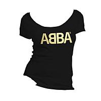 Футболка женская ABBA - Logo Gold
