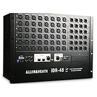 Цифровой микшерный модуль Allen & Heath iDR-48