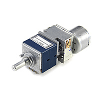 Потенциометр ALPS RK27 стерео (моторизированный)