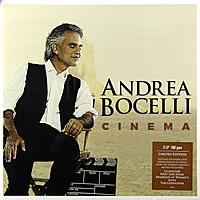 Виниловая пластинка ANDREA BOCELLI - CINEMA (2 LP, 180 GR)