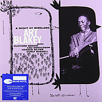 Виниловая пластинка ART BLAKEY - A NIGHT AT BIRDLAND VOL.1 (180 GR)