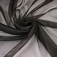 Ткань акустическая Audiocore 541-22 (чёрная вуаль)