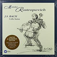 Виниловая пластинка BACH - CELLO SUITES (4 LP)