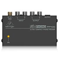 Фонокорректор Behringer MicroPHONO PP400