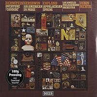 Виниловая пластинка BERNSTEIN / GERSHWIN / COPLAND - OVERTURE CANDIDE / AMERICAN IN PARIS / APPALACHIAN SPRING