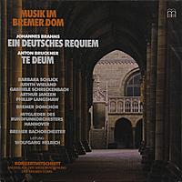 Виниловая пластинка BRAHMS - EIN DEUTSCHES REQUIEM / BRUCKNER ANTON - TE DEUM (2 LP)