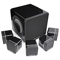 """Комплект акустики 5.1 Cambridge Audio Minx S215, обзор. Журнал """"WHAT HI-FI?"""""""