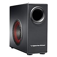 """Комплект Cerwin-Vega: мультимедийная акустика XD-5 и активный сабвуфер xD8S, обзор. Журнал """"WHAT HI-FI?"""""""