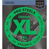 Гитарные струны D'Addario EPS220-5 (для бас-гитары)