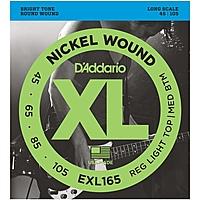 Гитарные струны D'Addario EXL165 (для бас-гитары)