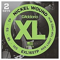 Гитарные струны D'Addario EXL165TP (для бас-гитары)
