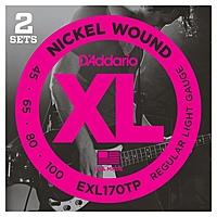 Гитарные струны D'Addario EXL170TP (для электрогитары)