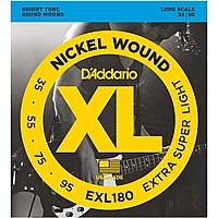 Гитарные струны D'Addario EXL180 (для бас-гитары)