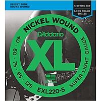 Гитарные струны D'Addario EXL220-5 (для бас-гитары)