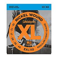 Гитарные струны D'Addario EXL110/3D (для электрогитары)