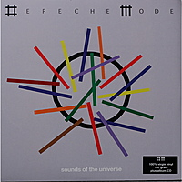 Виниловая пластинка DEPECHE MODE - SOUNDS OF THE UNIVERSE (2 LP + CD, 180 GR)