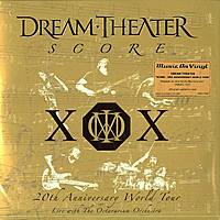 Виниловая пластинка DREAM THEATER - 20TH ANNIVERSERY WORLD TOUR (4 LP)