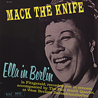 Виниловая пластинка ELLA FITZGERALD - MACK THE KNIFE