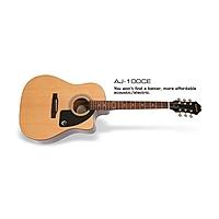 Гитара электроакустическая Epiphone AJ-100CE (PASSIVE) NATURAL