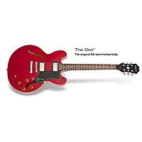 Гитара полуакустическая Epiphone DOT CHERRY CH