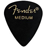 Медиатор Fender 351 Shape Picks 1 Gross Black Medium