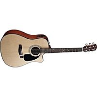 Гитара электроакустическая Fender CD-100CE Dreadnought Natural