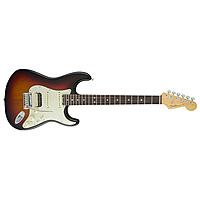 Электрогитара Fender American Elite Stratocaster HSS Shawbucker Rosewood Fingerboard 3-Color Sunburst