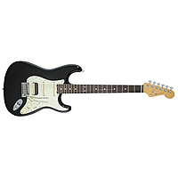 Электрогитара Fender American Elite Stratocaster HSS Shawbucker Rosewood Fingerboard Mystic Black