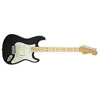 Электрогитара Fender American Elite Stratocaster Maple Fingerboard Mystic Black
