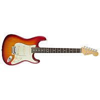 Электрогитара Fender American Elite Stratocaster Rosewood Fingerboard Aged Cherry Burst