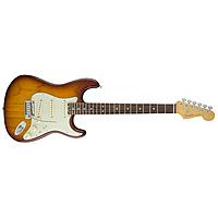 Электрогитара Fender American Elite Stratocaster Rosewood Fingerboard Tobacco Sunburst