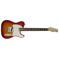 Электрогитара Fender American Elite Telecaster Rosewood Fingerboard Aged Cherry Burst