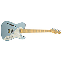 Электрогитара Fender American Elite Telecaster Thinline Maple Fingerboard Mystic Ice Blue