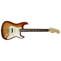 Электрогитара Fender AMERICAN STANDARD STRATOCASTER HSS SHAWBUCKER RW Sienna Sunburst