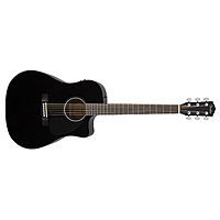 Гитара электроакустическая Fender CD-60CE Dreadnought Black W/Fishman Miniq Preamp