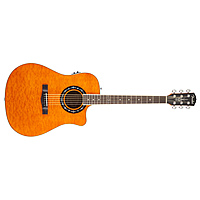 Гитара электроакустическая Fender T-Bucket 300CE Amber Quilt Maple