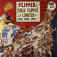 Виниловая пластинка FLIPPER - PUBLIC FLIPPER LIMITED LIVE 1980-1985 (2 LP, 180 GR)