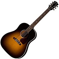 Гитара электроакустическая Gibson J-45 Standard Vintage Sunburst