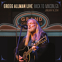 Виниловая пластинка GREGG ALLMAN - LIVE: BACK TO MACON, GA (2 LP)